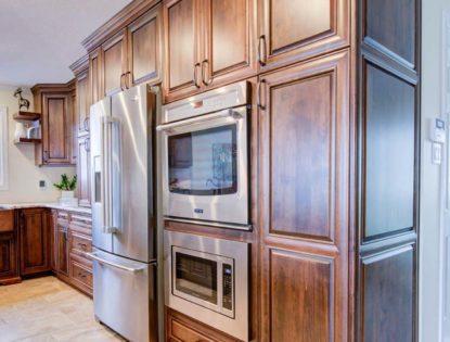Alder Medium Kitchen. Kitchen | Alder | Mitered Doors | Raised Panel | Contemporary
